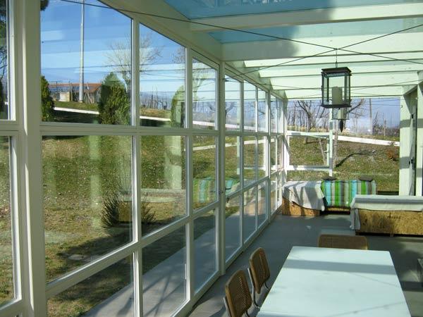 Verande per terrazzi Ravenna Imola – produzione coperture in ferro ...